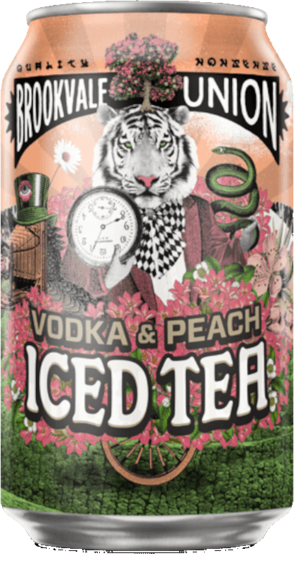 Brookvale Union Vodka & Peach Iced Tea