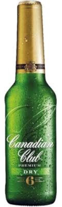 Canadian Club Dry Premium 6% 4pk
