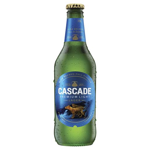 Cascade Premium Light Stubbies 375ml