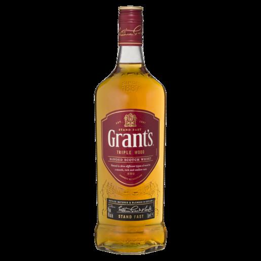 Grant\'s Scotch Triple Wood 1ltr