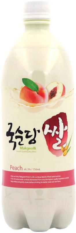 Makgeolli Peach Rice Wine