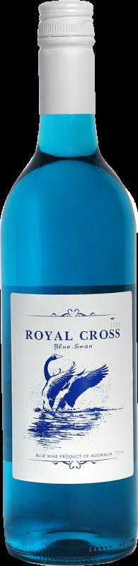 Royal Cross Blue Swan
