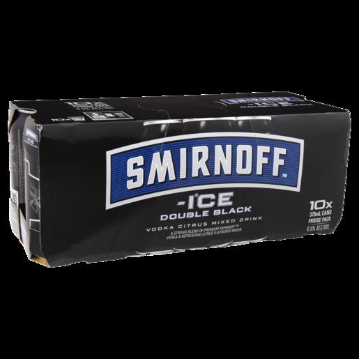 Smirnoff D/b 6.5% 10pk 375ml