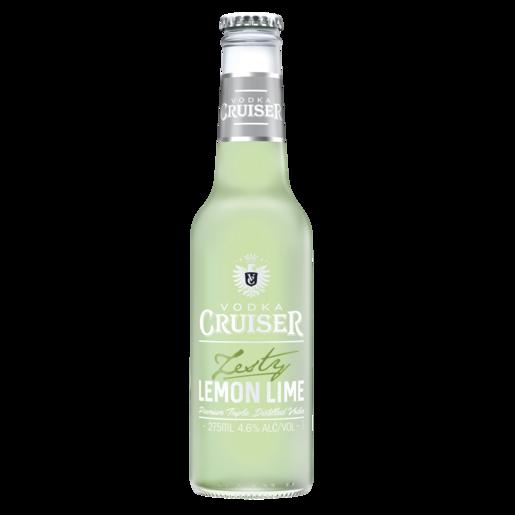 Cruiser Zesty Lemon 4.6% Stubbies 275ml