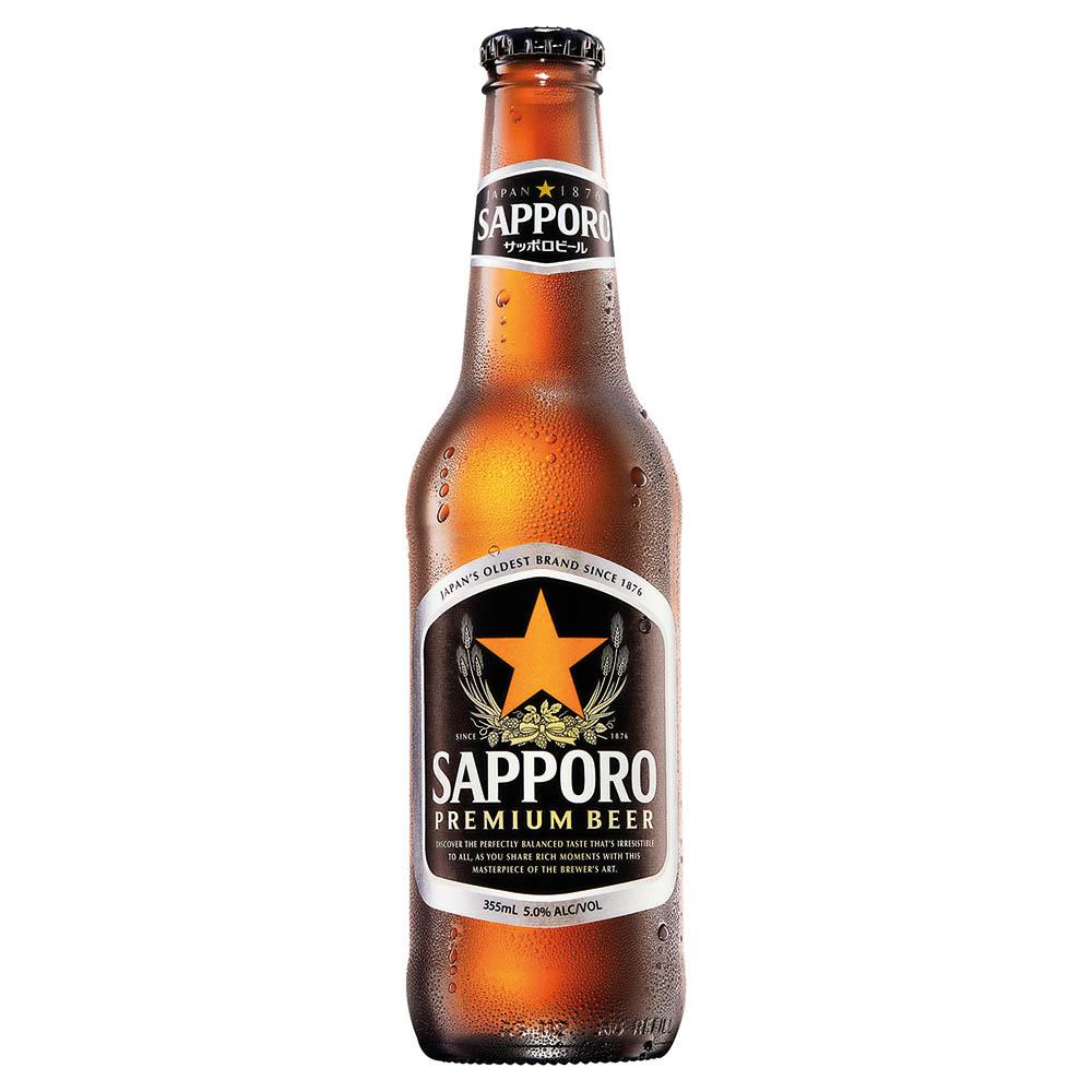Sapporo 355ml