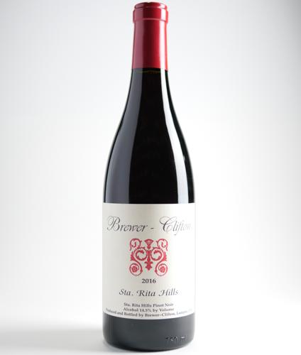 Brewer Clifton Santa Rita Hills Pinot Noir 2016