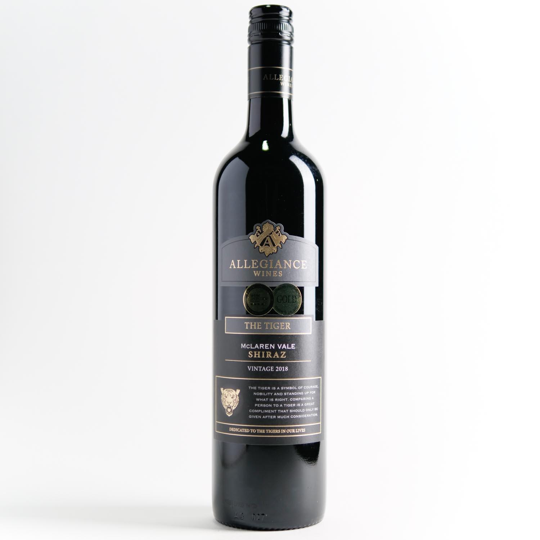 Allegiance Wines The Tiger Shiraz 2018